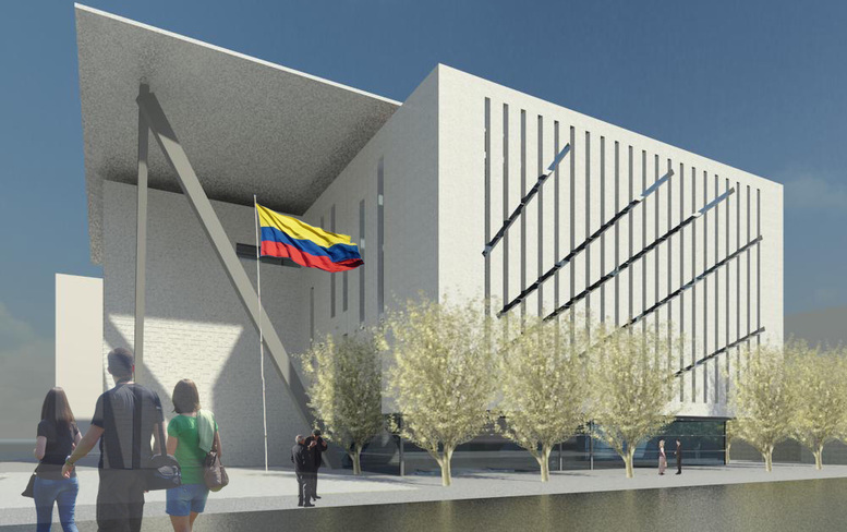 Fachada del Ministerio de Defensa de Colombia